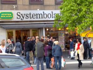 systembolaget queue