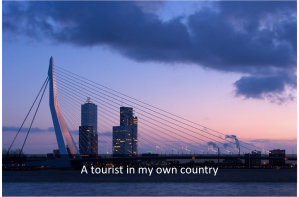 a tourist in my own country