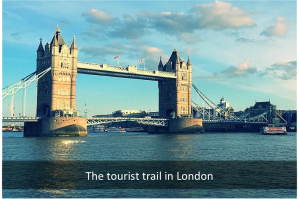 The tourist trail london